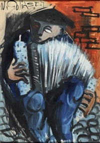 l'accordéoniste by wilhelm goliasch