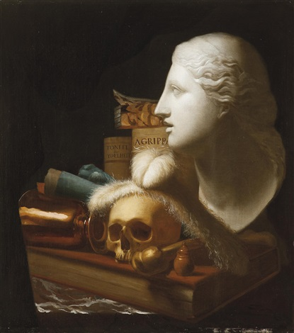 vanitas by french school 17