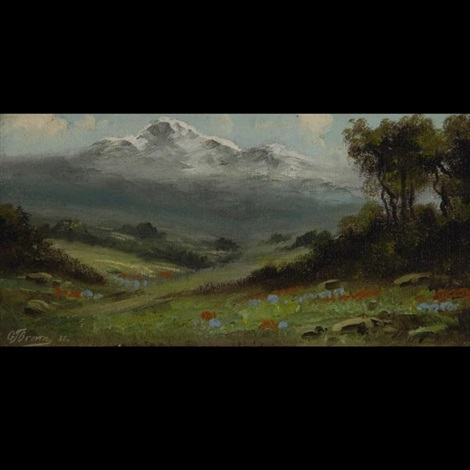 spring landscape by grafton tyler brown