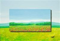 paesaggio by francesco borzani