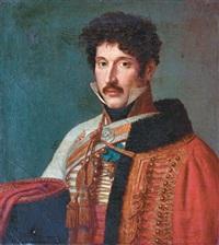 portrait du lieutenant général charles-antoine manhes by andrea appiani