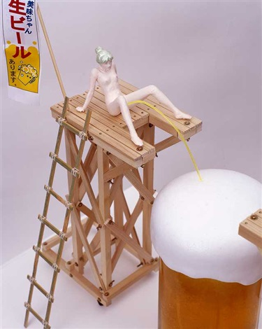 edible artificial girl mi mi chan series 8 works mi mi chan beer by makoto aida
