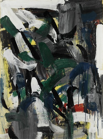 sans titre 1958 by jean paul riopelle