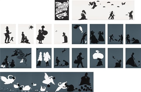 the emancipation approximation portfolio set of 26 by kara walker