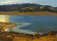 eagle nest lake by ernest leonard blumenschein