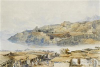 view of attock fort by william simpson