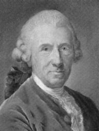 portrait of a man wearing a cadogan by joseph boze