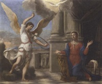 the annunciation by nicolas colombel