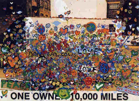 one owner 10000 miles love and peace by richard woods