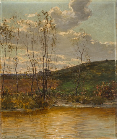 spring landscape by walter launt palmer
