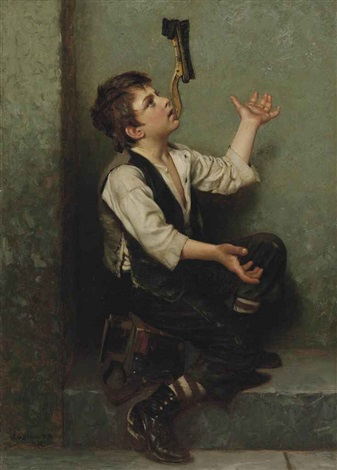 the juggler by john george brown