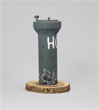watchtower by banksy