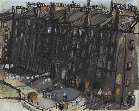 a glasgow tenement by joan kathleen harding eardley