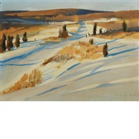 early snow by fairfield porter
