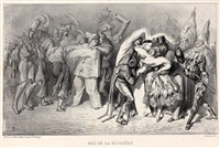 musee francais et anglais, (set of 31) by gustave doré