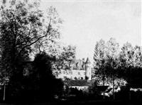 château de montrésor by lionel garner