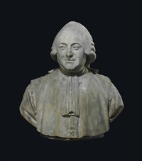 a bust of jean-pierre-charles le noir (1732-1807) by jean-antoine houdon