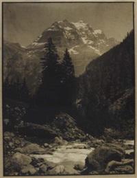 vue de montagne by antoine mazel