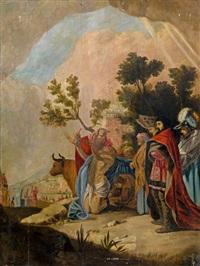 nebukadnezar, könig von babylon, erhält seine königswürde zurück by jacob symonsz pynas