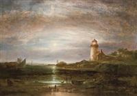desert rock lighthouse, maine by thomas doughty