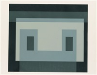 i-s va 5 (from six variants) by josef albers