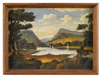 delaware water gap by thomas chambers