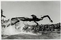 bronte pool, bronte 1979 (2 works) by roger scott