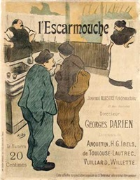 l'escarmouche journal illustré by henri gabriel ibels