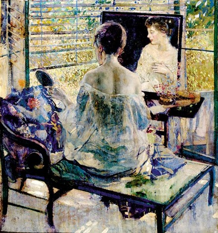 sunbath by richard edward miller