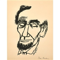 lincoln (3 works) by ben shahn