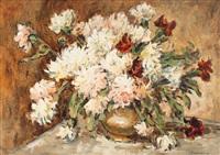 chrysanthemums by traian cornescu