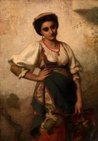 a mediterranean beauty by rudolf w. a. lehmann