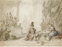 dido and aeneas by elias van nymegen