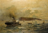 the passage to helgoland by heinrich hiller