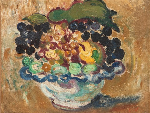 compotier des fruits by louis valtat