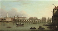 view of the city of london from the south bank of the thames by samuel scott