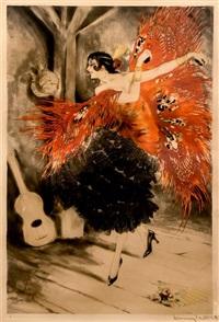 spanish dance by louis icart