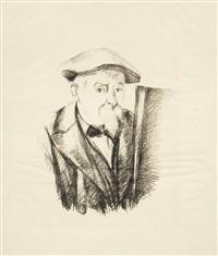 portrait de cézanne par lui-même by paul cézanne