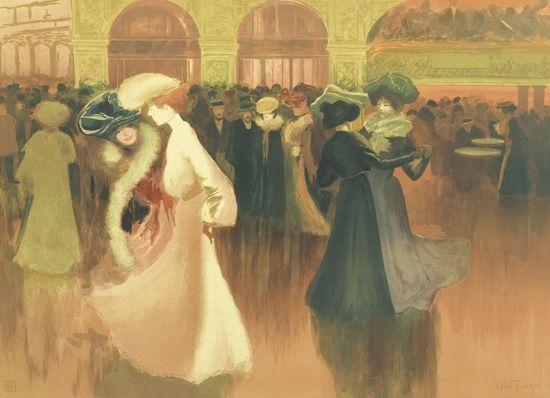 les danseuses by louis abel truchet