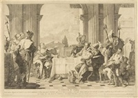 il contivo di naval (after tiepolo) by pietro monaco
