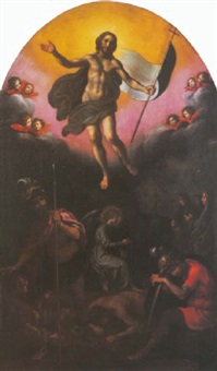 the resurrection by francesco corradi