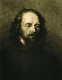 lord tennyson (after g.f. watts) by frank short