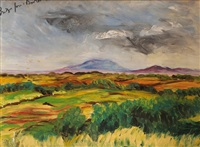 knocknarea from carney by bridget gore booth