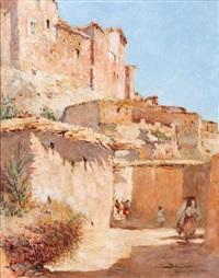 ruelle de la casbah d'azrou (atlas) by felipe barantes abascal