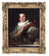 portrait of françois-henri, 5th duc d'harcourt by jean honoré fragonard