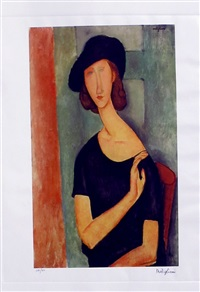 hebuterne jeanne by amedeo modigliani