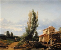 le retour au moulin by théophile victor emile lemmens