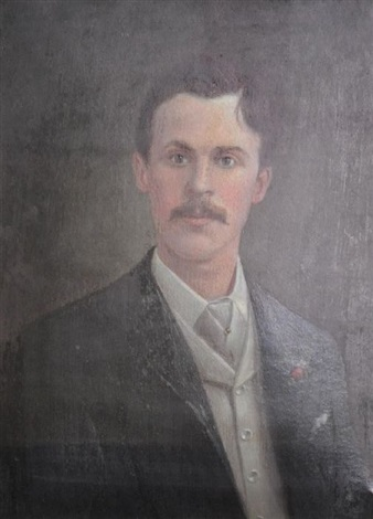 self portrait by charles hill