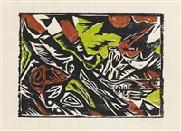 lofotenlandschaft by ernst wilhelm nay