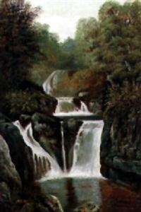 cascada by jean baptiste louis (baron gros) gros